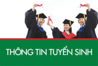 THÔNG TIN TUYỂN SINH NĂM 2019