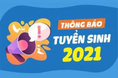 TUYỂN SINH NGÀNH THÔNG TIN - THƯ VIỆN NĂM 2021